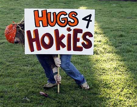 Hugs forHokies