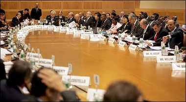 IMF meeting