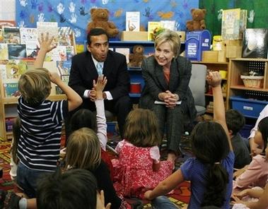 Hillary andAntonio
