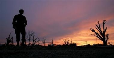 Greensburg atsunset