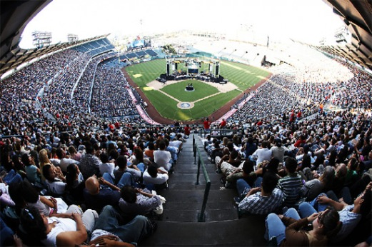 Harvest Crusade 2007 Angels Stadium