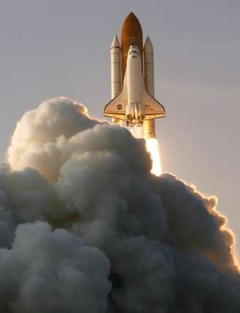 Space Shuttle Endeavour Aug. 8