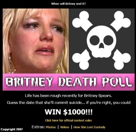 WKQI-FM 95.5 Detroit's Britney SuicideWatch