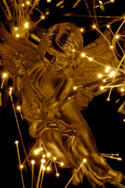 Angel in Christmastree