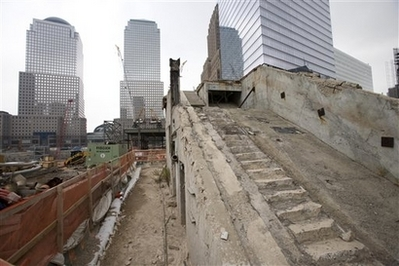 'Survivor staircase' from Ground Zero