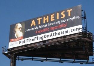 Ray Comfort's billboard campaign