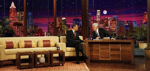Barack Obama on Jay Leno