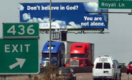Atheists Billboards in Texas