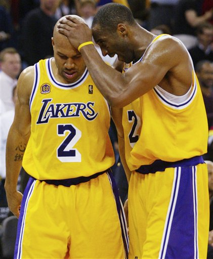 Lakers Kobe Bryant Derek Fisher