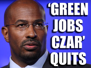Van Jones resigns