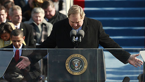 Rick Warren - Obama inauguration